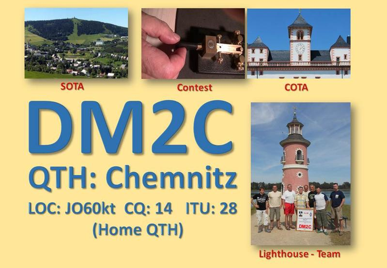 QSL image for DM2C