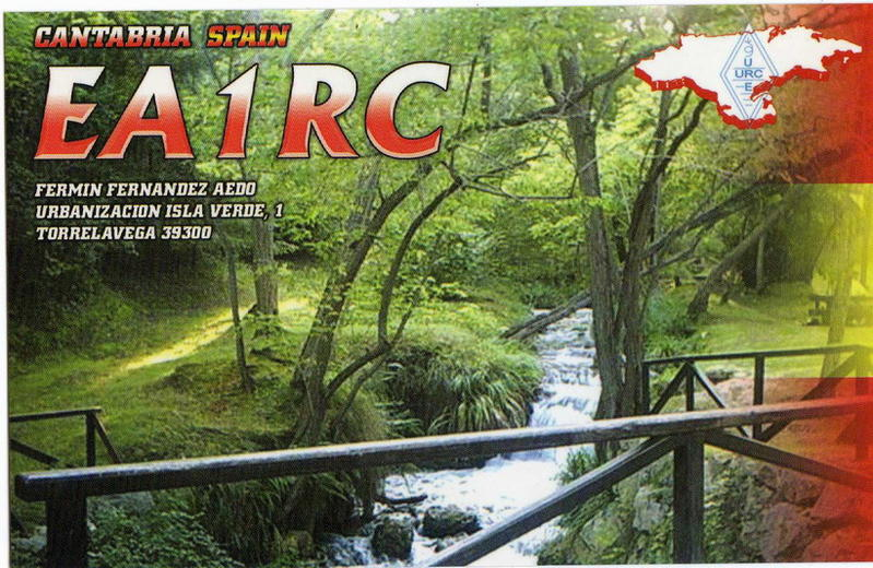 QSL image for EA1RC
