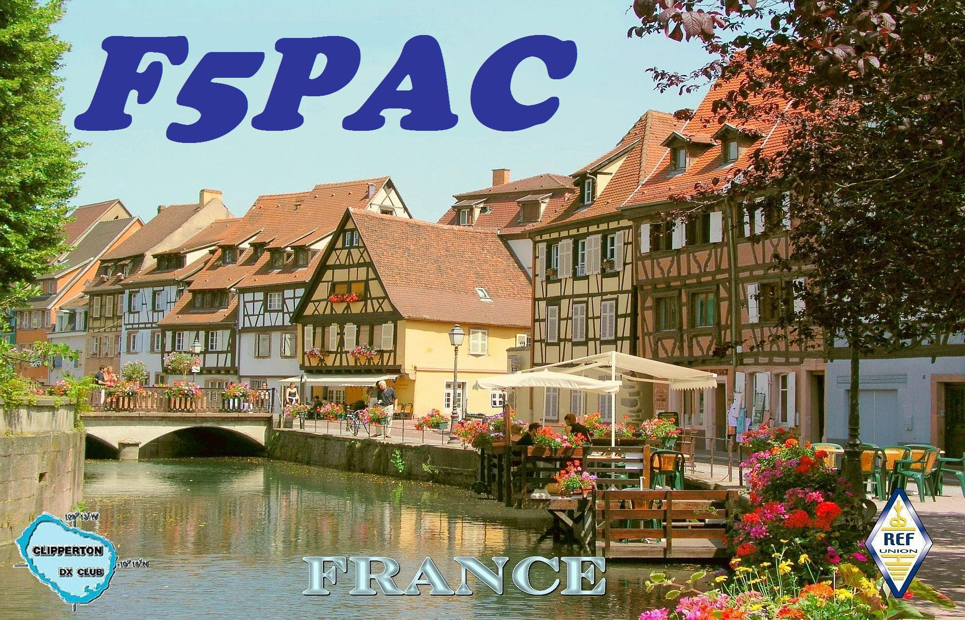 QSL image for F5PAC