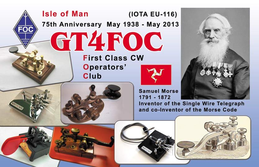 QSL image for GT4FOC
