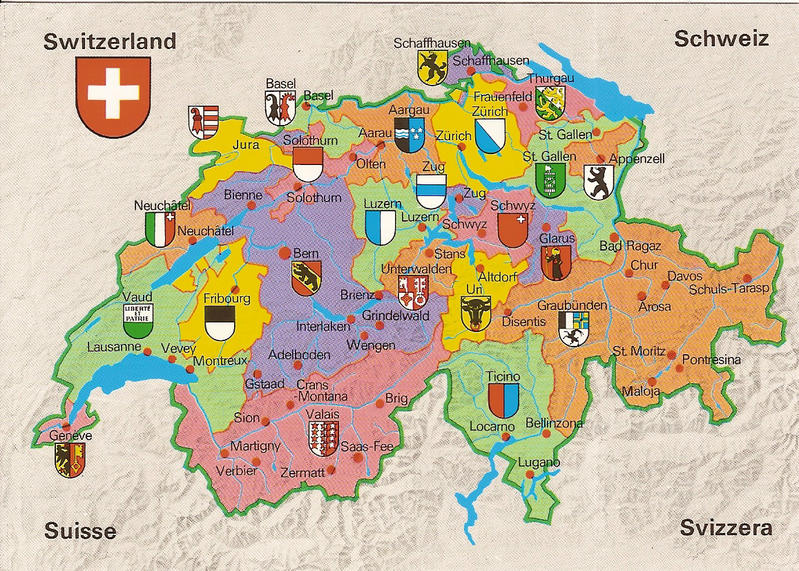Switzerland Five Themes of Geography
