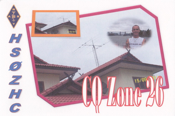 QSL image for HS0ZHC