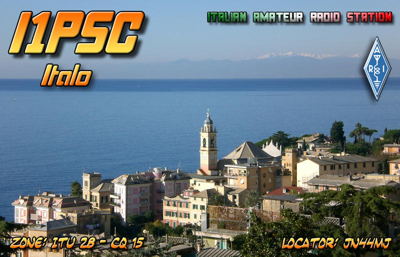 QSL image for I1PSC