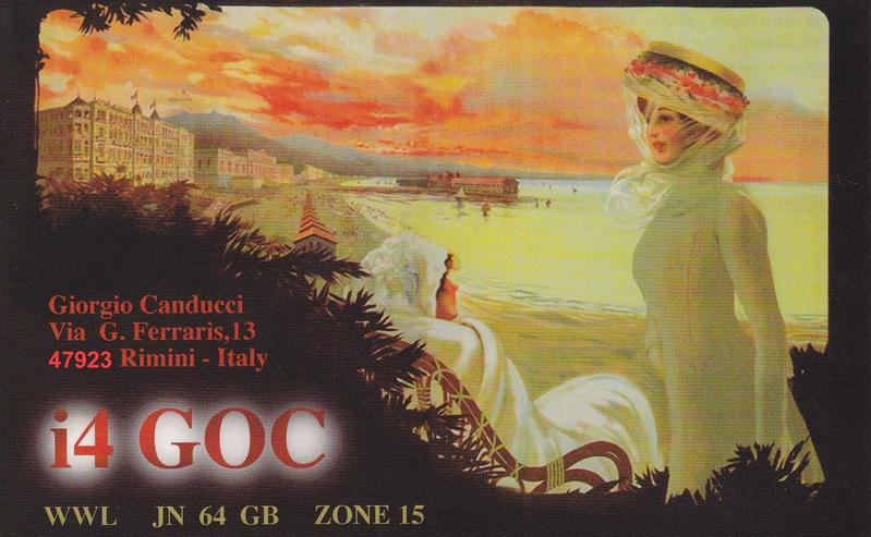 QSL image for I4GOC