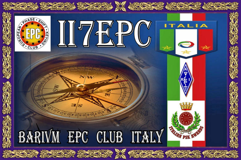 QSL image for II7EPC