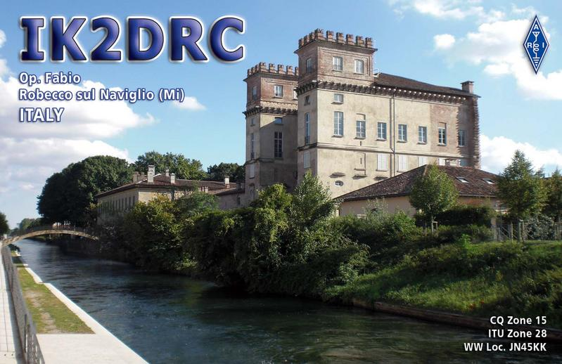 QSL image for IK2DRC