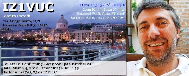QSL image for IZ1VUC