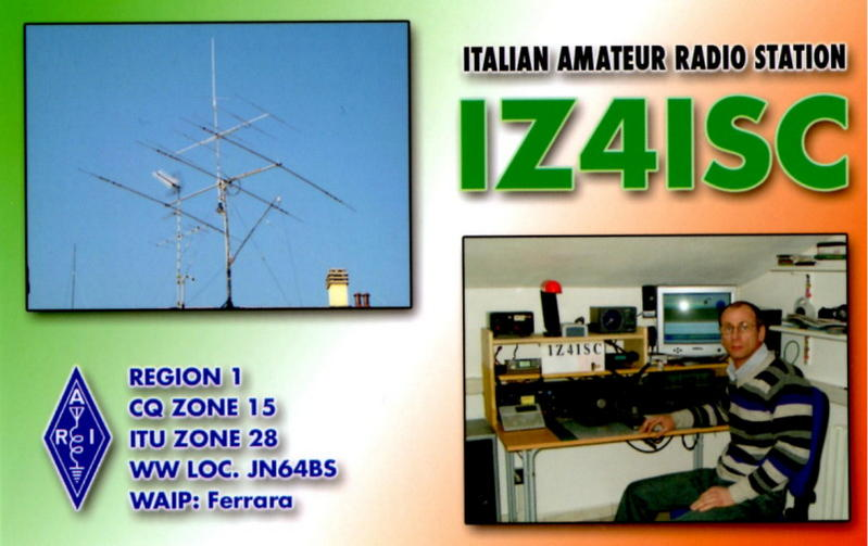QSL image for IZ4ISC