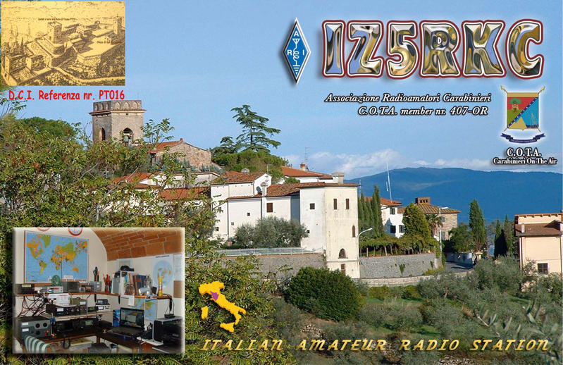 QSL image for IZ5RKC