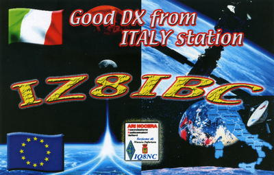 QSL image for IZ8IBC
