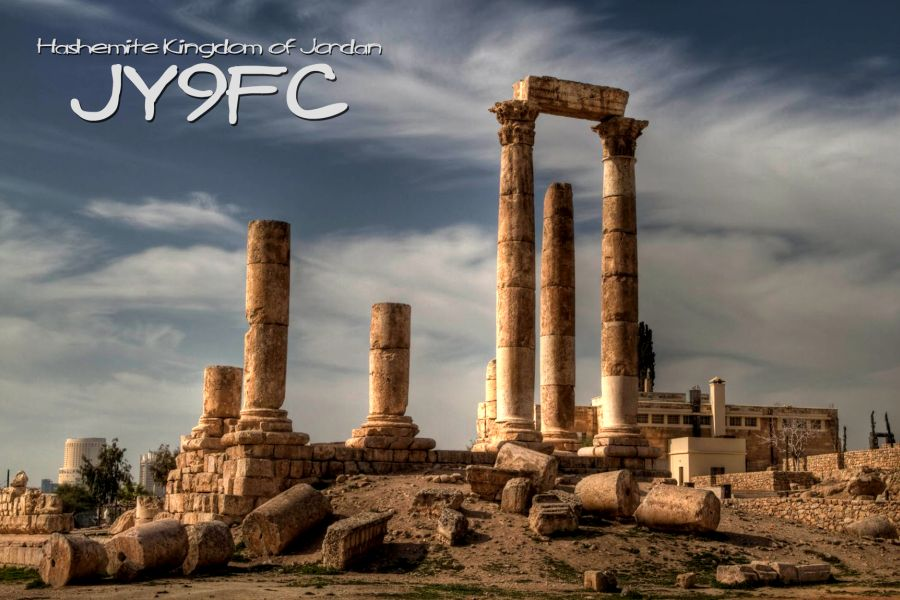 QSL image for JY9FC