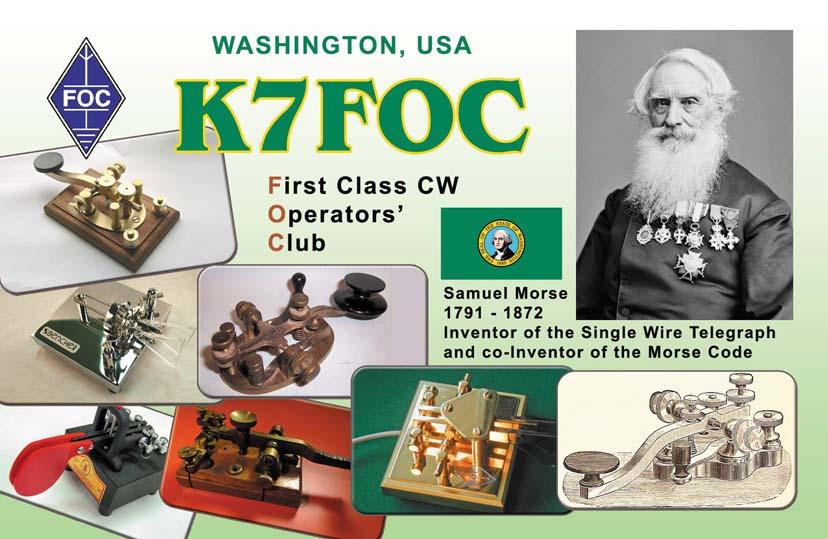 QSL image for K7FOC