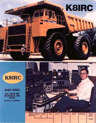 QSL image for K8IRC