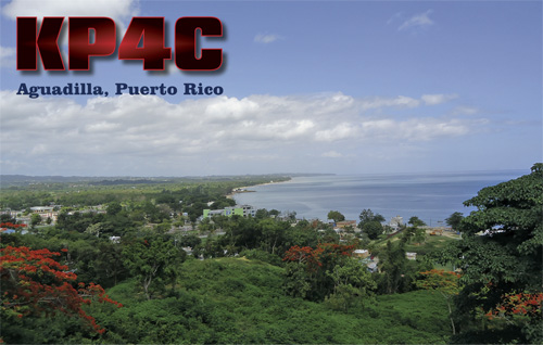QSL image for KP4C