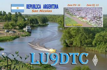 QSL image for LU9DTC