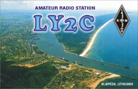 QSL image for LY2C