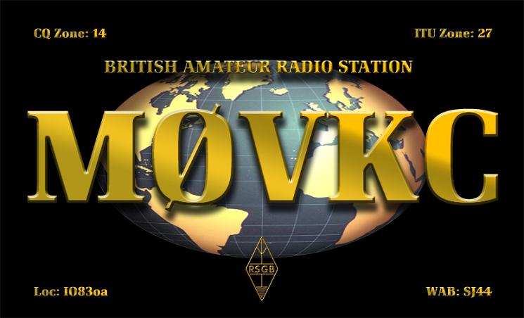 QSL image for M0VKC