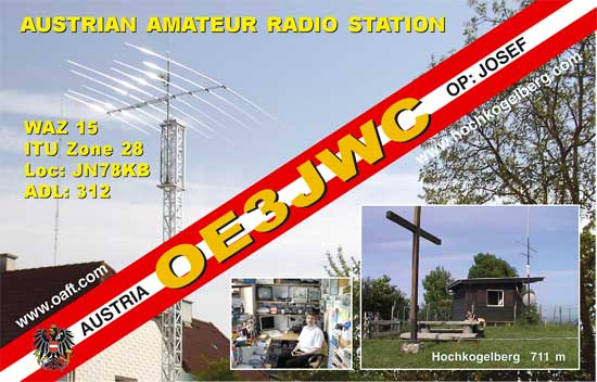 QSL image for OE3JWC