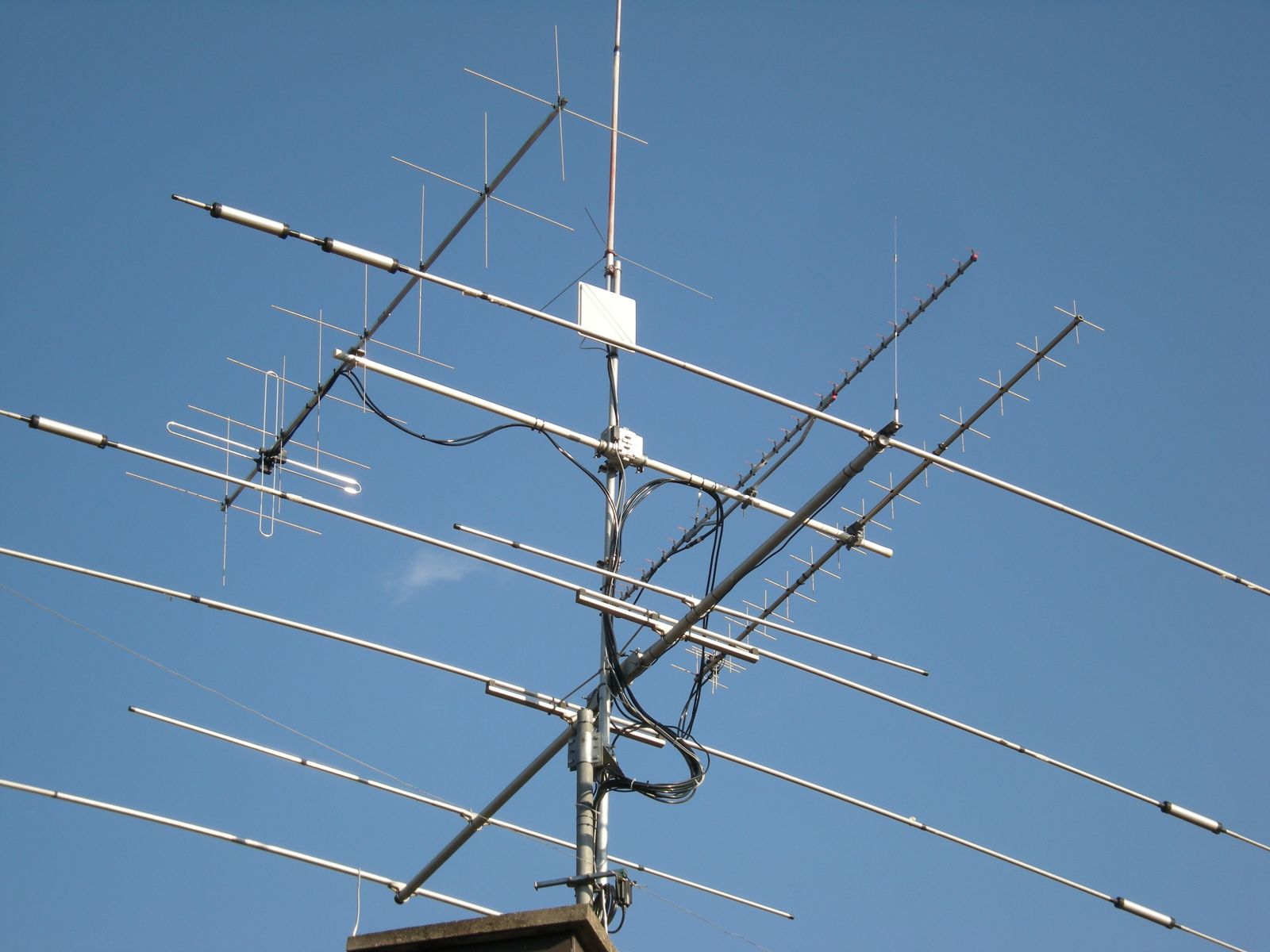 my antenna system from 80m to 5 GHz