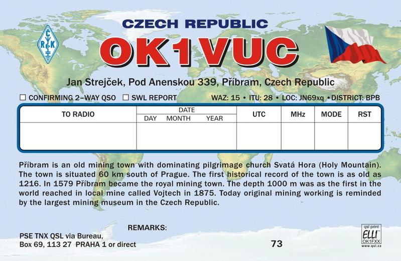 QSL image for OK1VUC