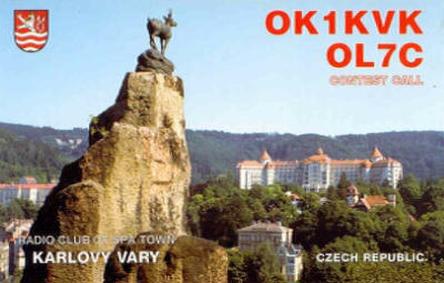 QSL image for OL7C