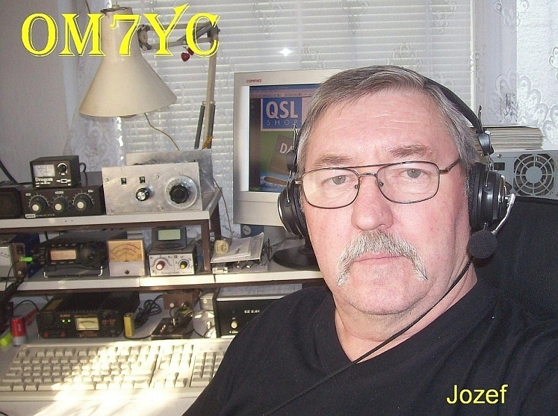 QSL image for OM7YC