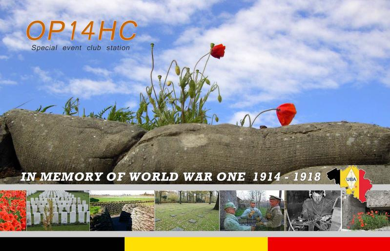 QSL image for OP14HC