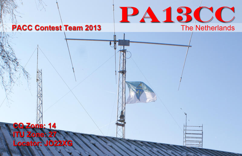 QSL image for PA13CC