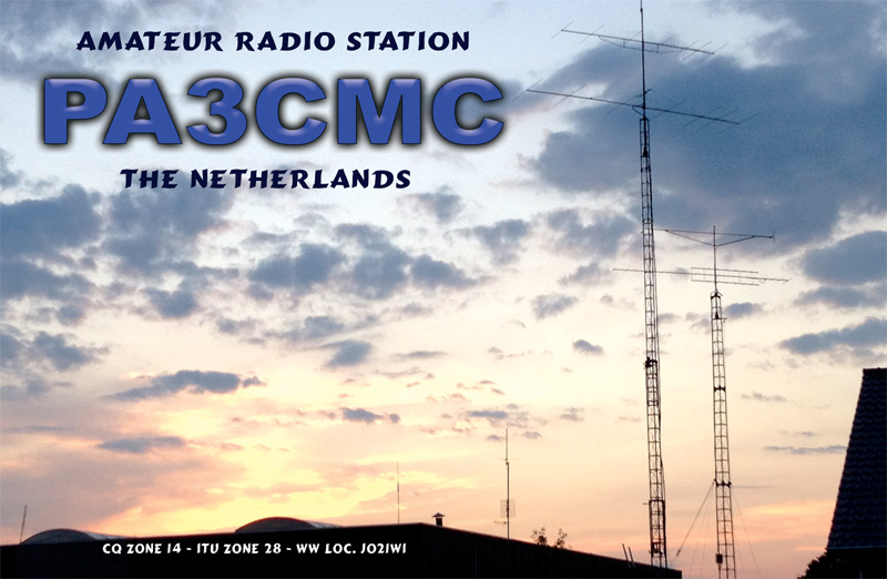 QSL image for PA3CMC