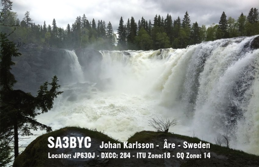 QSL image for SA3BYC