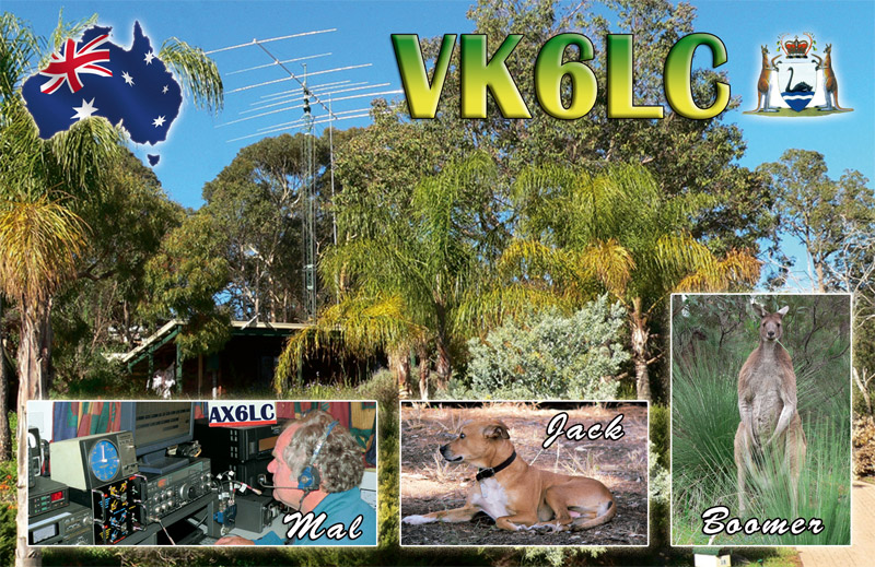 QSL image for VK6LC