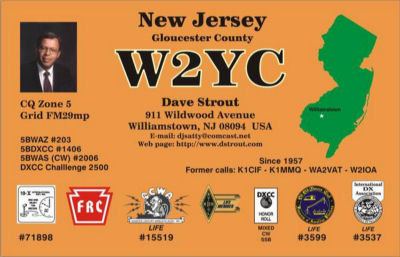 QSL image for W2YC