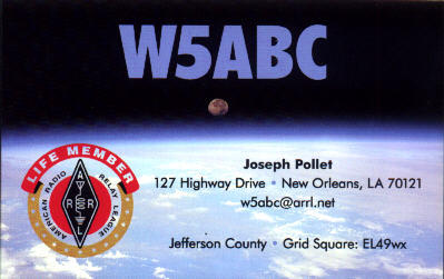 QSL image for W5ABC