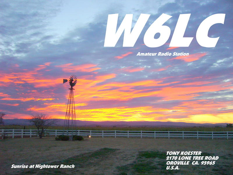QSL image for W6LC
