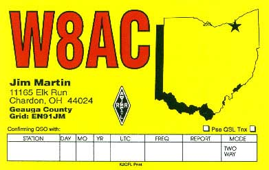 QSL image for W8AC