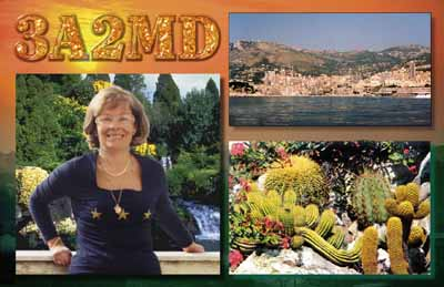 QSL image for 3A2MD