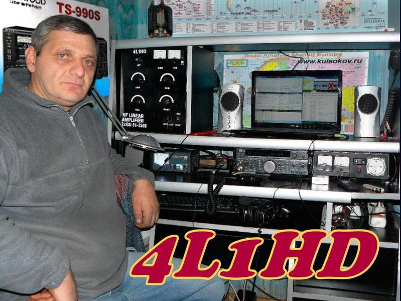 QSL image for 4L1HD