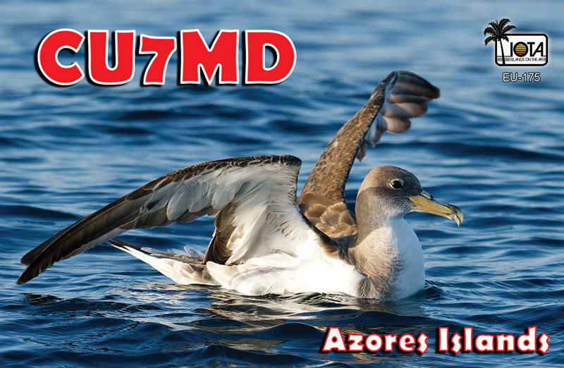 QSL image for CU7MD