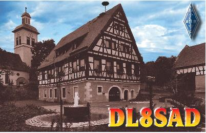 QSL image for DL8SAD