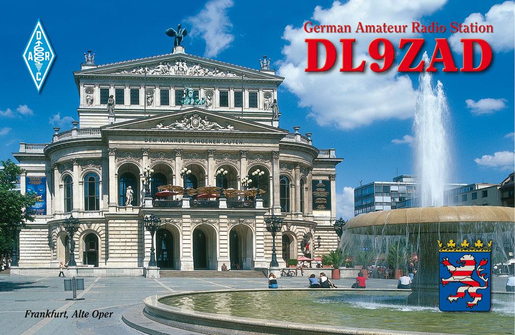 QSL image for DL9ZAD