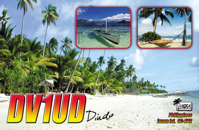 QSL image for DV1UD