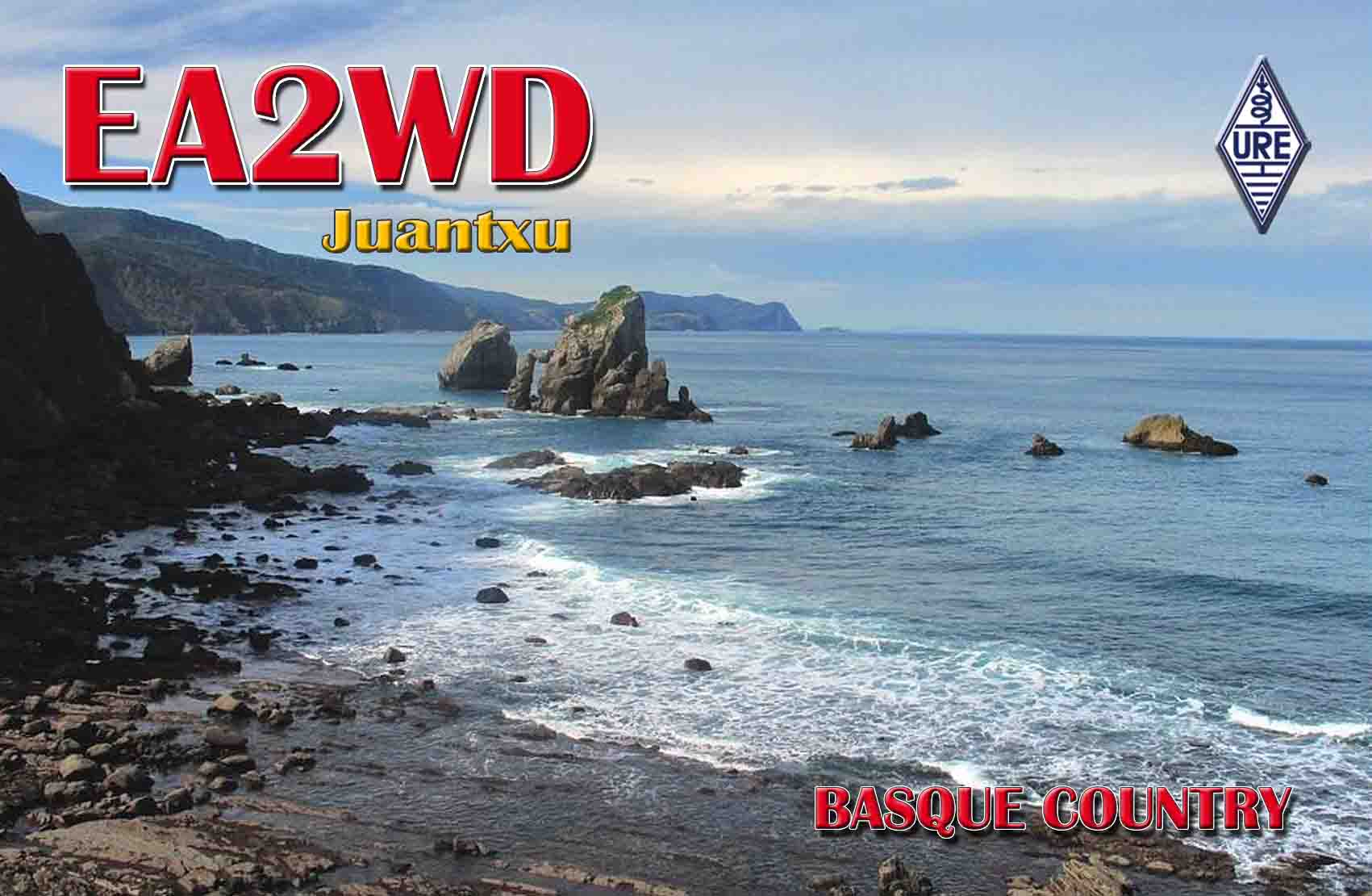 QSL image for EA2WD