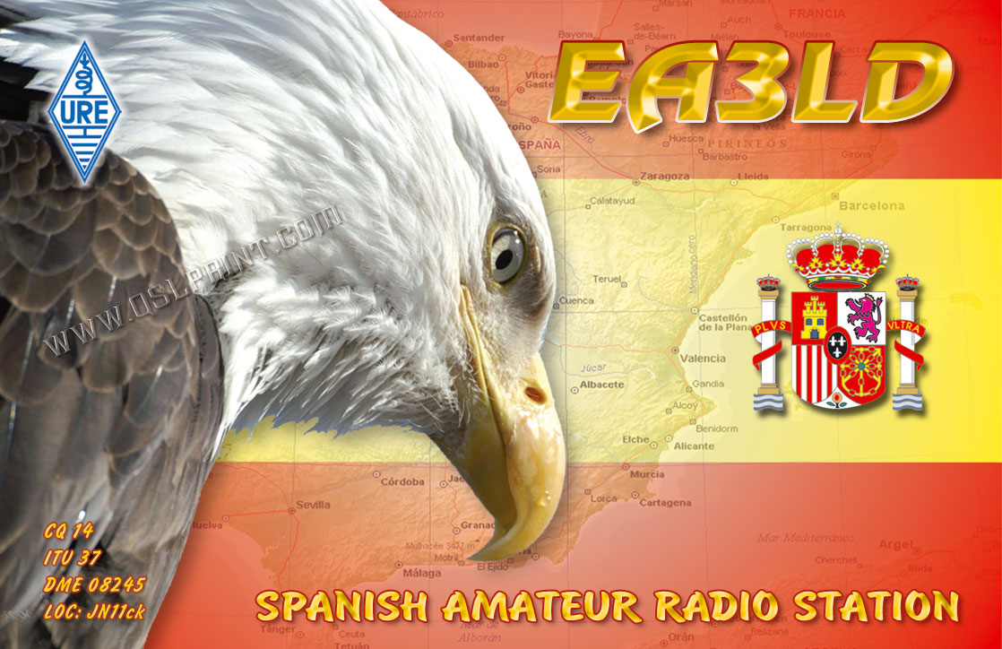 QSL image for EA3LD