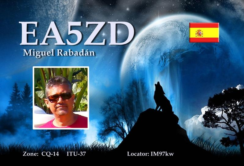 QSL image for EA5ZD