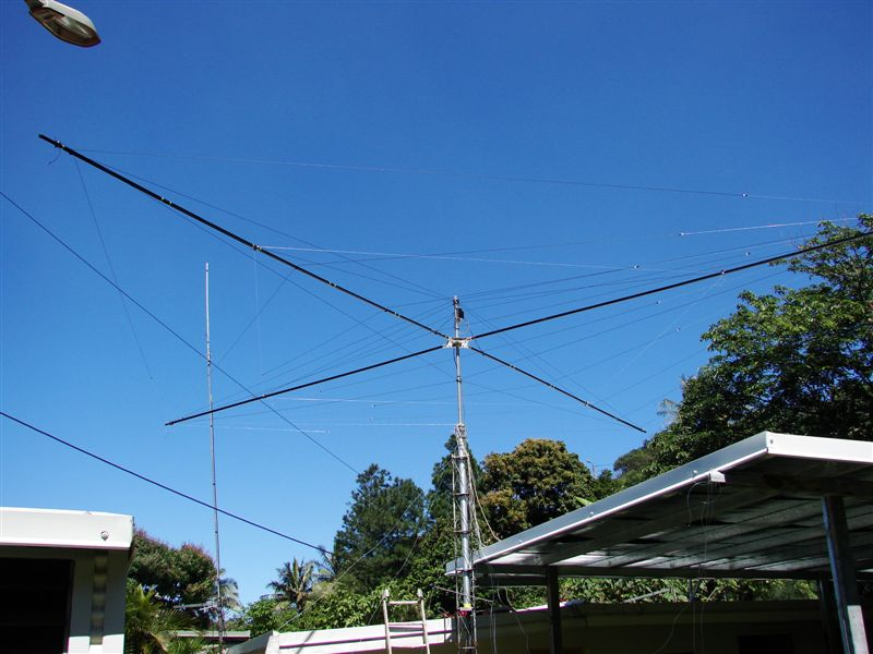 5bands Spiderbeam antenna