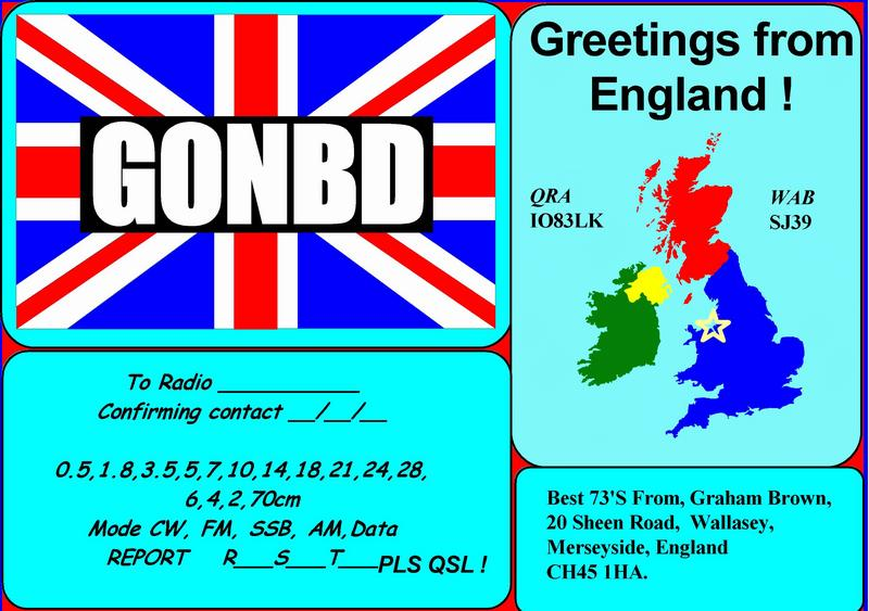 QSL image for G0NBD