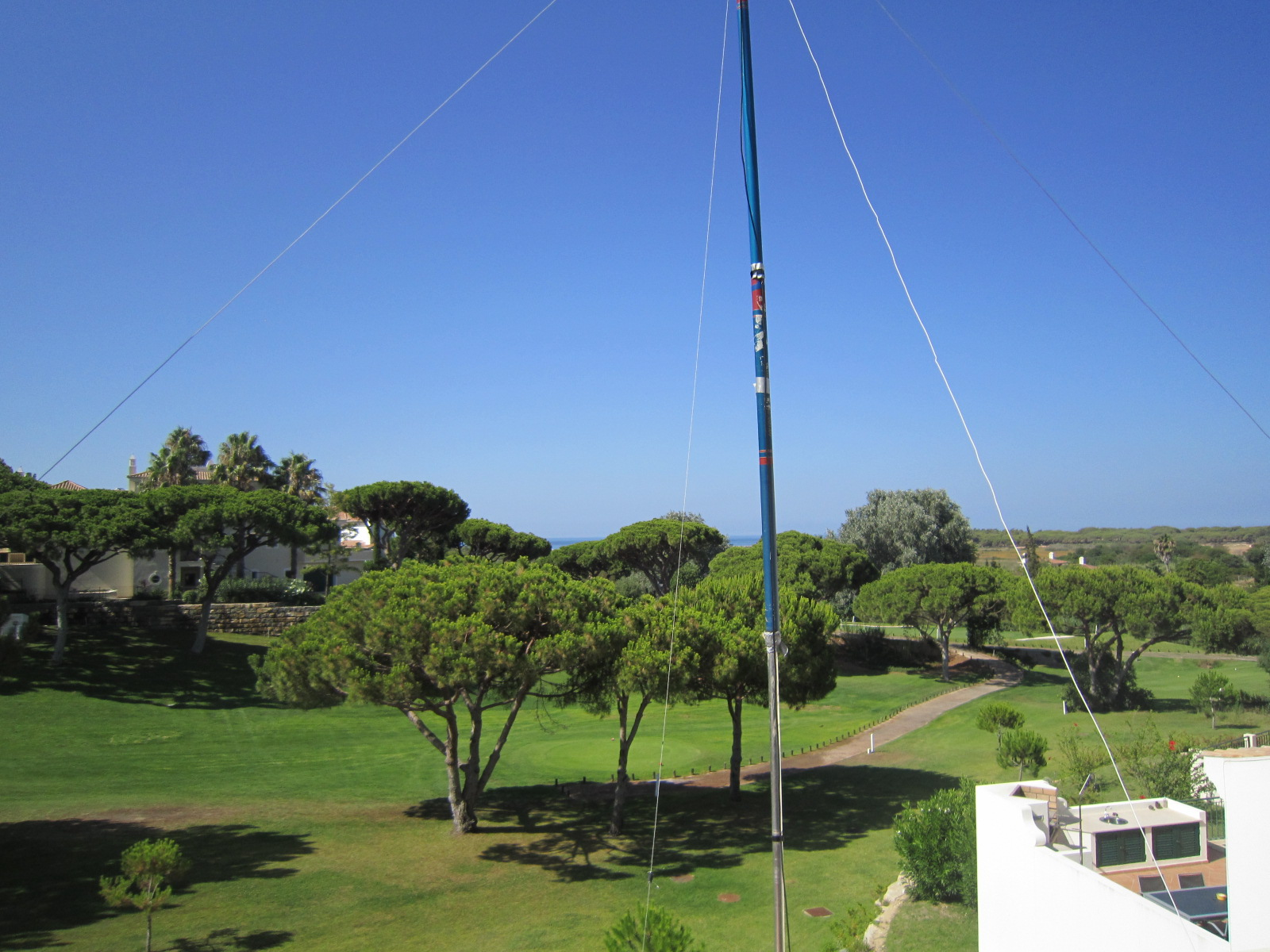 CT7/G3SED view from antenna
