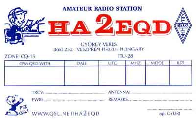 my old QSL-card