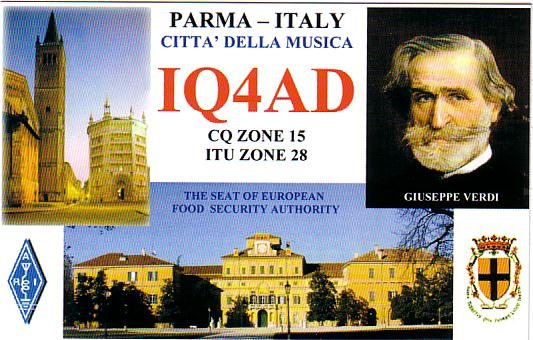 QSL image for IQ4AD