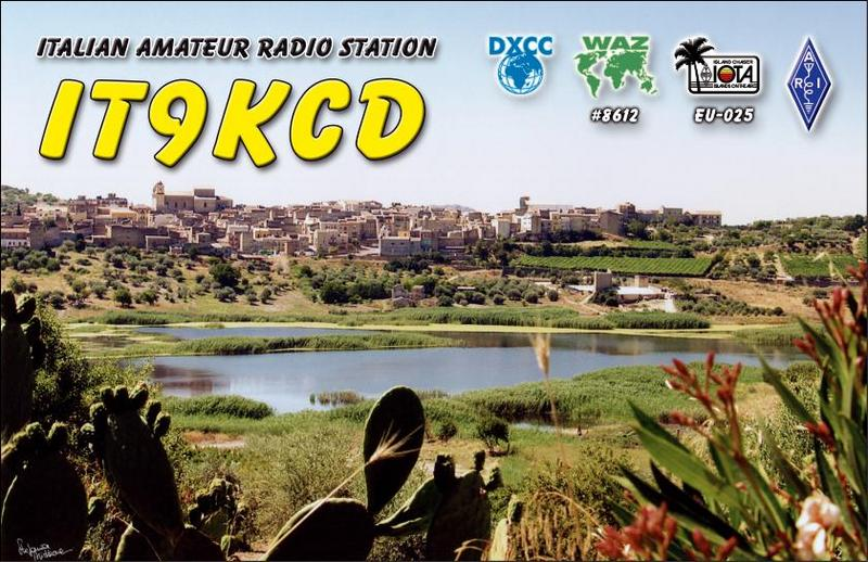 QSL image for IT9KCD